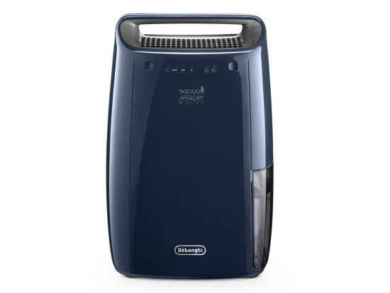 """DeLonghi DEX16F Dehumidifier with 16L/24h Humidity Absorption in Blue Delonghi Dehumidifiers DeLonghi DEX16F Dehumidifier with 16L/24h Humidity Absorption in Blue Shop The Very Best Air Con Deals Online at <a href=""""http://Appliance-Deals.com"""">Appliance-Deals.com</a>"""