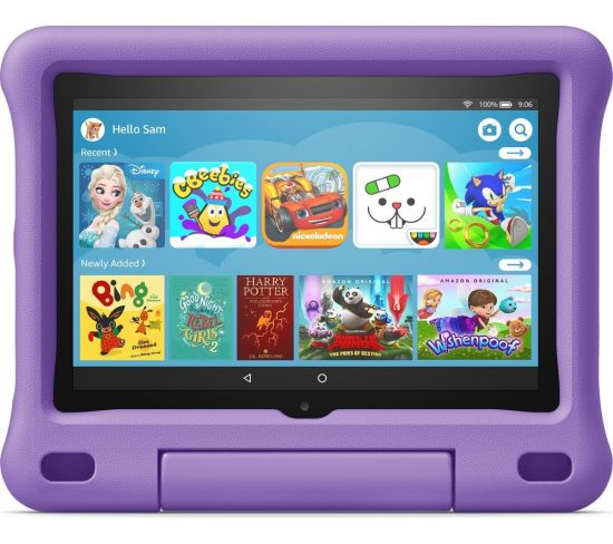 """AMAZON Fire HD 8"""" Kids Edition Tablet (2020) - 32 GB, Purple, Purple Currys laptops, Currys Laptop Sale, Amazon Laptops AMAZON Fire HD 8"""" Kids Edition Tablet (2020) - 32 GB, Purple, Purple Shop The Very Best Laptop Deals Online at <a href=""""http://Appliance-Deals.com"""">Appliance-Deals.com</a> <a href=""""https://www.awin1.com/cread.php?awinmid=1599&awinaffid=792795&ued=https%3A%2F%2Fwww.currys.co.uk%2Fgbuk%2Fcomputing-33-u.html""""><img class="""" wp-image-9780000159235 aligncenter"""" src=""""https://appliance-deals.com/wp-content/uploads/2021/03/curryspcworld_500x500_thumb.png"""" alt=""""Appliance Deals"""" width=""""112"""" height=""""112"""" /></a>"""