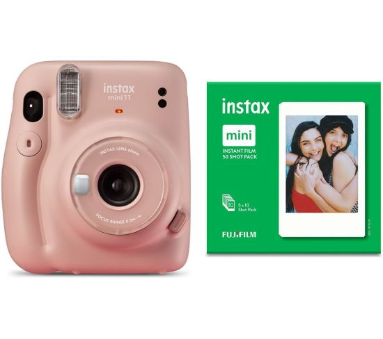 """INSTAX mini 11 Instant Camera & 50 Shot Mini Film Pack Bundle - Blush Pink, Pink Currys Cameras INSTAX mini 11 Instant Camera & 50 Shot Mini Film Pack Bundle - Blush Pink, Pink Shop The Very Best Deals Online at <a href=""""http://Appliance-Deals.com"""">Appliance-Deals.com</a> <a href=""""https://www.awin1.com/cread.php?awinmid=19526&awinaffid=792795&ued=https%3A%2F%2Fao.com""""><img class="""" wp-image-9780000159235 aligncenter"""" src=""""https://appliance-deals.com/wp-content/uploads/2021/02/ao-new.jpg"""" alt=""""Appliance Deals"""" width=""""112"""" height=""""112"""" /></a> <a href=""""https://www.awin1.com/cread.php?awinmid=19526&awinaffid=792795&ued=https%3A%2F%2Fao.com""""><img class="""" wp-image-9780000159235 aligncenter"""" src=""""https://appliance-deals.com/wp-content/uploads/2021/03/curryspcworld_500x500_thumb.png"""" alt=""""Appliance Deals"""" width=""""112"""" height=""""112"""" /></a>"""