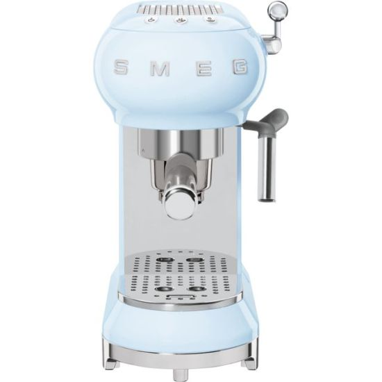 """Smeg 50's Retro ECF01PBUK Espresso Coffee Machine - Pastel Blue AO Espresso Smeg 50's Retro ECF01PBUK Espresso Coffee Machine - Pastel Blue Shop The Very Best Small Appliance Deals Online at <a href=""""http://Appliance-Deals.com"""">Appliance-Deals.com</a> <a href=""""https://www.awin1.com/cread.php?awinmid=19526&awinaffid=792795&ued=https://ao.com""""><img class="""" wp-image-9780000159235 aligncenter"""" src=""""https://appliance-deals.com/wp-content/uploads/2021/02/ao-new.jpg"""" alt="""" Small Appliance Deals"""" width=""""112"""" height=""""112"""" /></a>"""