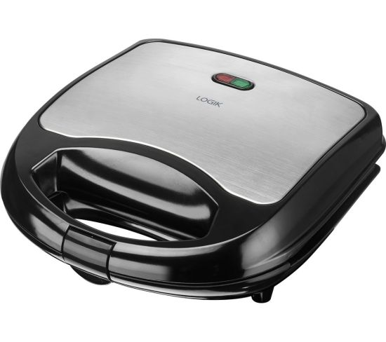 """LOGIK L02SMS17 Sandwich Toaster - Black & Silver, Black Appliance Deals LOGIK L02SMS17 Sandwich Toaster - Black & Silver, Black Shop & Save Today With The Best Appliance Deals Online at <a href=""""http://Appliance-Deals.com"""">Appliance-Deals.com</a>"""
