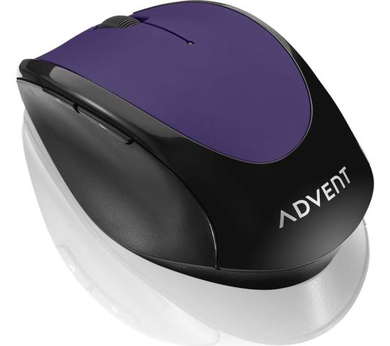 """ADVENT AMWLPP19 Wireless Optical Mouse - Purple & Black, Purple Appliance Deals ADVENT AMWLPP19 Wireless Optical Mouse - Purple & Black, Purple Shop & Save Today With The Best Appliance Deals Online at <a href=""""http://Appliance-Deals.com"""">Appliance-Deals.com</a>"""