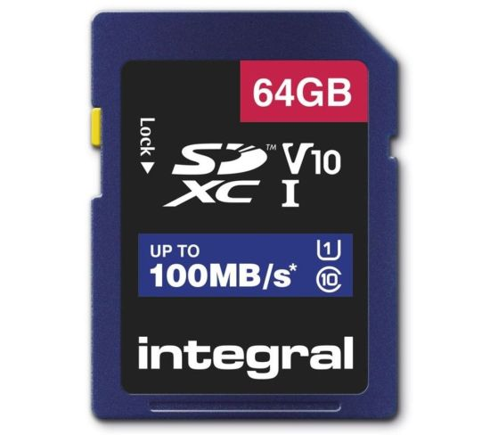"""INTEGRAL V10 Class 10 SD Memory Card - 64 GB Appliance Deals INTEGRAL V10 Class 10 SD Memory Card - 64 GB Shop & Save Today With The Best Appliance Deals Online at <a href=""""http://Appliance-Deals.com"""">Appliance-Deals.com</a>"""