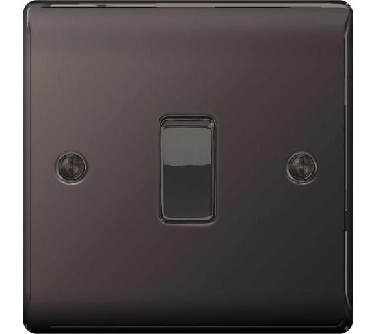 """BG ELECTRICAL Decorative NBN12-01 Switch - Black Nickel, Black Appliance Deals BG ELECTRICAL Decorative NBN12-01 Switch - Black Nickel, Black Shop & Save Today With The Best Appliance Deals Online at <a href=""""http://Appliance-Deals.com"""">Appliance-Deals.com</a>"""