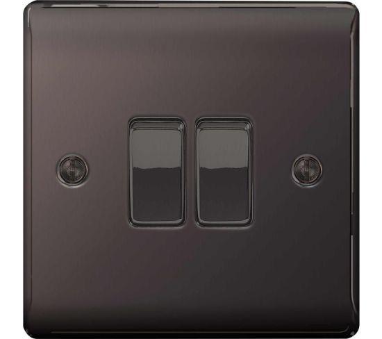 "BG ELECTRICAL Decorative NBN42-01 Push-button Switch - Black Nickel, Black Appliance Deals BG ELECTRICAL Decorative NBN42-01 Push-button Switch - Black Nickel, Black Shop & Save Today With The Best Appliance Deals Online at <a href=""http://Appliance-Deals.com"">Appliance-Deals.com</a>"