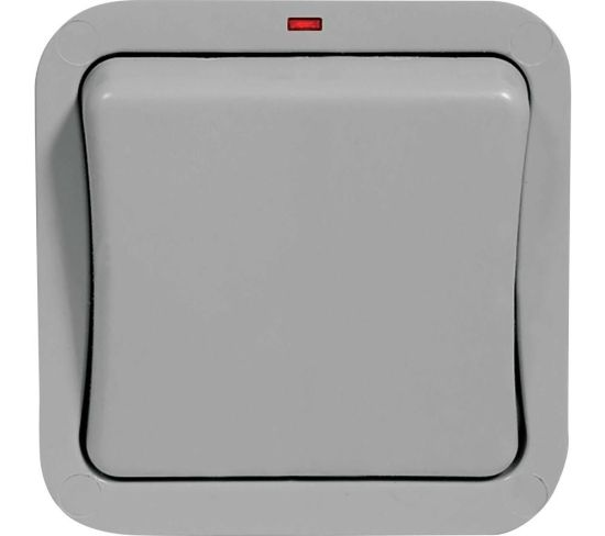 """BG ELECTRICAL WP12-01 Push-button Switch - Grey, Grey Appliance Deals BG ELECTRICAL WP12-01 Push-button Switch - Grey, Grey Shop & Save Today With The Best Appliance Deals Online at <a href=""""http://Appliance-Deals.com"""">Appliance-Deals.com</a>"""