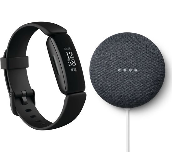 """FITBIT Inspire 2 & Nest Mini (2nd Gen) Bundle - Black & Charcoal, Black FITBIT Inspire 2 & Nest Mini (2nd Gen) Bundle - Black & Charcoal, Black Shop The Very Best FitBit Sale Deals Online at <a href=""""http://Appliance-Deals.com"""">Appliance-Deals.com</a> <a href=""""https://www.awin1.com/cread.php?awinmid=1599&awinaffid=792795&ued=https%3A%2F%2Fcurrys.co.uk""""><img class="""" wp-image-9780000159235 aligncenter"""" src=""""https://appliance-deals.com/wp-content/uploads/2021/03/curryspcworld_500x500_thumb.png"""" alt=""""fitbit Appliance Deals"""" width=""""112"""" height=""""112"""" /></a>"""