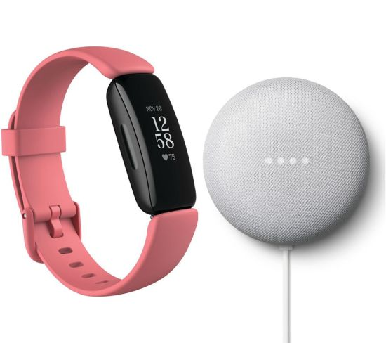 """FITBIT Inspire 2 & Nest Mini (2nd Gen) Bundle - Desert Rose & Chalk FITBIT Inspire 2 & Nest Mini (2nd Gen) Bundle - Desert Rose & Chalk Shop The Very Best FitBit Sale Deals Online at <a href=""""http://Appliance-Deals.com"""">Appliance-Deals.com</a> <a href=""""https://www.awin1.com/cread.php?awinmid=1599&awinaffid=792795&ued=https%3A%2F%2Fcurrys.co.uk""""><img class="""" wp-image-9780000159235 aligncenter"""" src=""""https://appliance-deals.com/wp-content/uploads/2021/03/curryspcworld_500x500_thumb.png"""" alt=""""fitbit Appliance Deals"""" width=""""112"""" height=""""112"""" /></a>"""