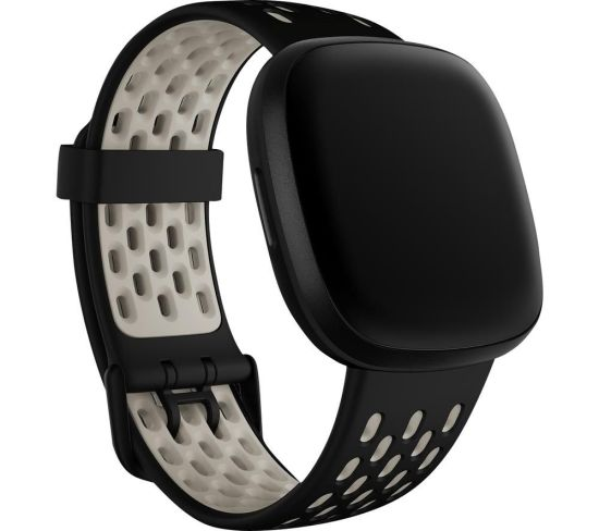 """FITBIT Sense & Versa 3 Sports Band - Black & White, Small, Black FITBIT Sense & Versa 3 Sports Band - Black & White, Small, Black Shop The Very Best FitBit Sale Deals Online at <a href=""""http://Appliance-Deals.com"""">Appliance-Deals.com</a> <a href=""""https://www.awin1.com/cread.php?awinmid=1599&awinaffid=792795&ued=https%3A%2F%2Fcurrys.co.uk""""><img class="""" wp-image-9780000159235 aligncenter"""" src=""""https://appliance-deals.com/wp-content/uploads/2021/03/curryspcworld_500x500_thumb.png"""" alt=""""fitbit Appliance Deals"""" width=""""112"""" height=""""112"""" /></a>"""