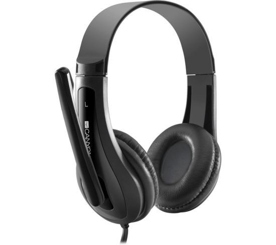 """CANYON CNS-CHSC1B Headset - Black, Black Appliance Deals CANYON CNS-CHSC1B Headset - Black, Black Shop & Save Today With The Best Appliance Deals Online at <a href=""""http://Appliance-Deals.com"""">Appliance-Deals.com</a>"""