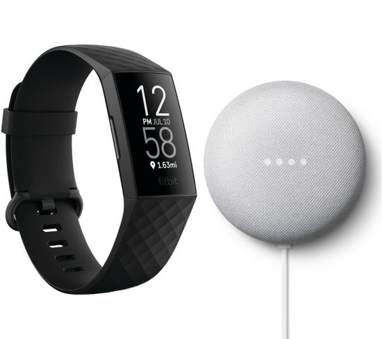 """FITBIT Charge 4 Fitness Tracker & Google Nest Mini (2nd Gen) Bundle - Black & Chalk, Black FITBIT Charge 4 Fitness Tracker & Google Nest Mini (2nd Gen) Bundle - Black & Chalk, Black Shop The Very Best FitBit Sale Deals Online at <a href=""""http://Appliance-Deals.com"""">Appliance-Deals.com</a> <a href=""""https://www.awin1.com/cread.php?awinmid=1599&awinaffid=792795&ued=https%3A%2F%2Fcurrys.co.uk""""><img class="""" wp-image-9780000159235 aligncenter"""" src=""""https://appliance-deals.com/wp-content/uploads/2021/03/curryspcworld_500x500_thumb.png"""" alt=""""fitbit Appliance Deals"""" width=""""112"""" height=""""112"""" /></a>"""