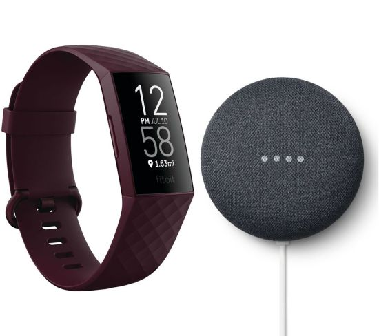 """FITBIT Charge 4 Fitness Tracker & Google Nest Mini (2nd Gen) Bundle - Rosewood & Charcoal, Charcoal FITBIT Charge 4 Fitness Tracker & Google Nest Mini (2nd Gen) Bundle - Rosewood & Charcoal, Charcoal Shop The Very Best FitBit Sale Deals Online at <a href=""""http://Appliance-Deals.com"""">Appliance-Deals.com</a> <a href=""""https://www.awin1.com/cread.php?awinmid=1599&awinaffid=792795&ued=https%3A%2F%2Fcurrys.co.uk""""><img class="""" wp-image-9780000159235 aligncenter"""" src=""""https://appliance-deals.com/wp-content/uploads/2021/03/curryspcworld_500x500_thumb.png"""" alt=""""fitbit Appliance Deals"""" width=""""112"""" height=""""112"""" /></a>"""