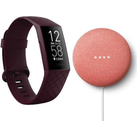 """FITBIT Charge 4 Fitness Tracker & Google Nest Mini (2nd Gen) Bundle - Rosewood & Coral, Coral FITBIT Charge 4 Fitness Tracker & Google Nest Mini (2nd Gen) Bundle - Rosewood & Coral, Coral Shop The Very Best FitBit Sale Deals Online at <a href=""""http://Appliance-Deals.com"""">Appliance-Deals.com</a> <a href=""""https://www.awin1.com/cread.php?awinmid=1599&awinaffid=792795&ued=https%3A%2F%2Fcurrys.co.uk""""><img class="""" wp-image-9780000159235 aligncenter"""" src=""""https://appliance-deals.com/wp-content/uploads/2021/03/curryspcworld_500x500_thumb.png"""" alt=""""fitbit Appliance Deals"""" width=""""112"""" height=""""112"""" /></a>"""