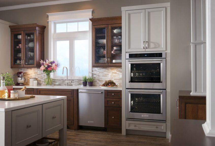 replace kitchenaid oven door hinges