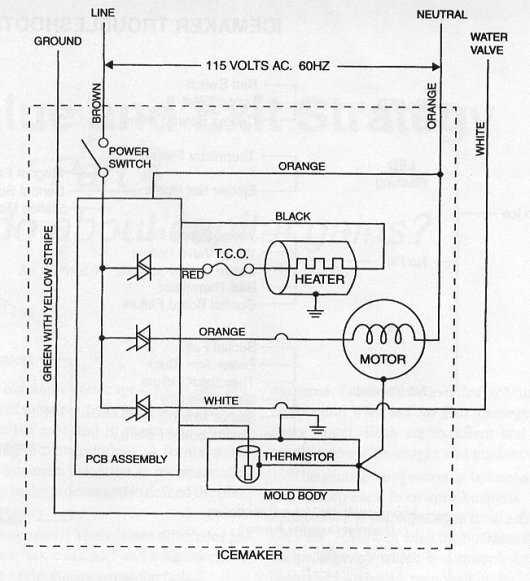 kitchenaid refrigerator electrical schematic - kitchen design, Wiring diagram