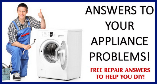Appliance Repair Answers - Washer, Dryer, Dishwasher