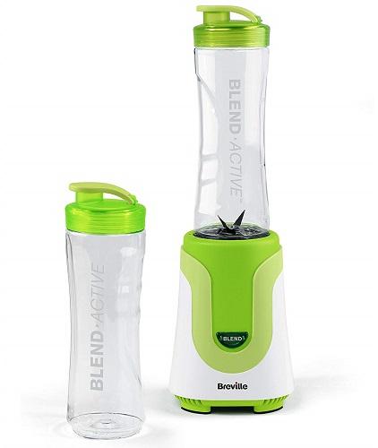 Breville Blend Active Personal Blender, 300 Вт, 50 Гц, белый зеленый - Университетский контрольный список