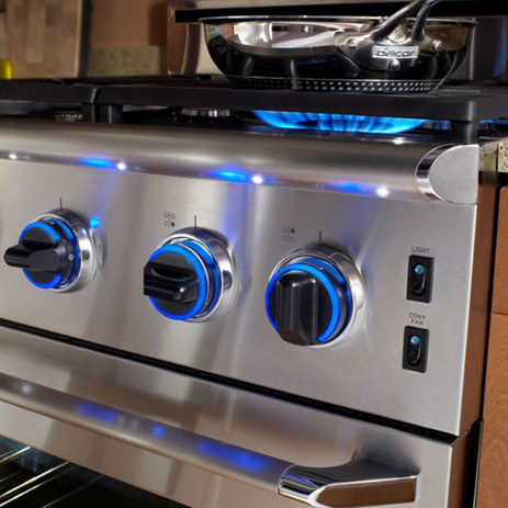Dacor Distinctive 4 Burner Gas Cooktop Stainless Steel Common 30
