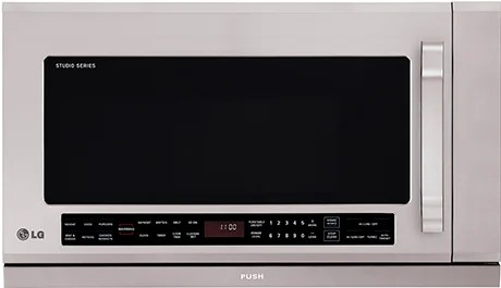 lg over the range microwave oven