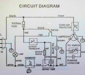Reading wiring diagrams: How the Defrost Cycle works in a