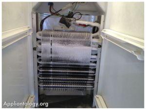 Frigidaire SxS Refrigerator Evaporator Coil with A Poor