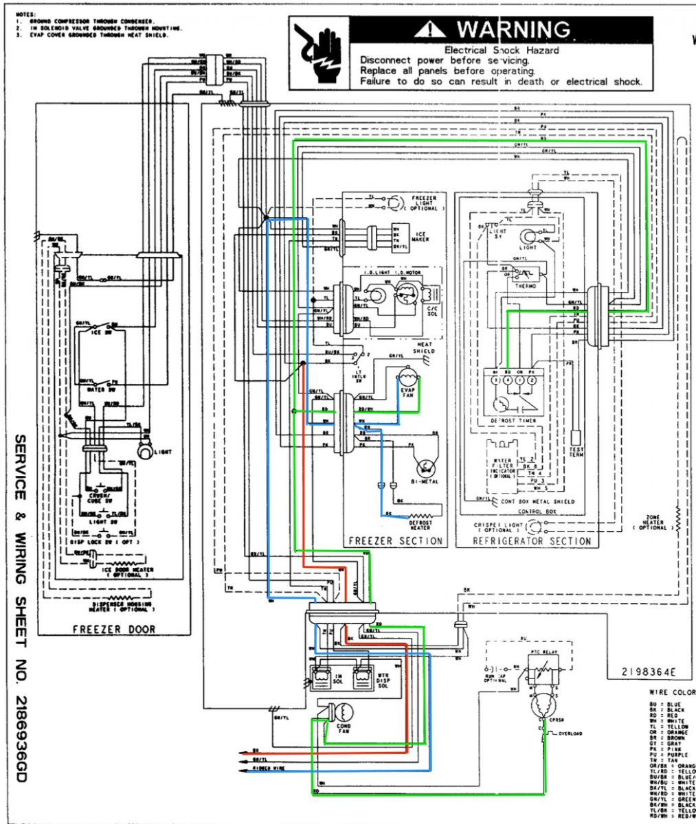 Diagram Freezer Wiring Cpf100c Layout Diagrams Walk In Schematics Electrical Rh Wiringforall Today