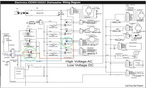 Electrolux EIDW6105GS1 Dishwasher Wiring Diagram  The