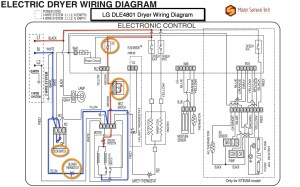 LG DLE4801 Dryer Wiring Diagram  Dryer Repair  Gallery