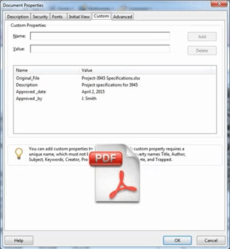 PDF File Plug-in (PDM Professional only)