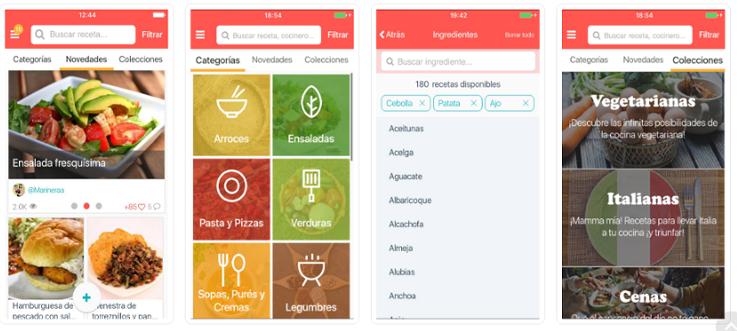 La app ¿Qué cocino hoy? se renombra como Hatcook : Applicantes –  Información sobre apps y juegos para móviles