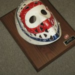 Original hockey mask reproduced