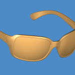 Brand-name-sunglasses-3d-scan-data