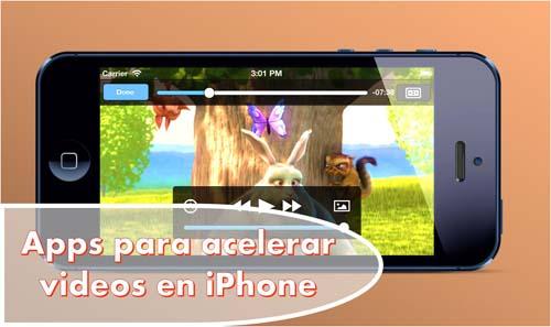Apps para acelerar videos en iPhone