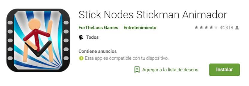 descargar stick nodes en google play