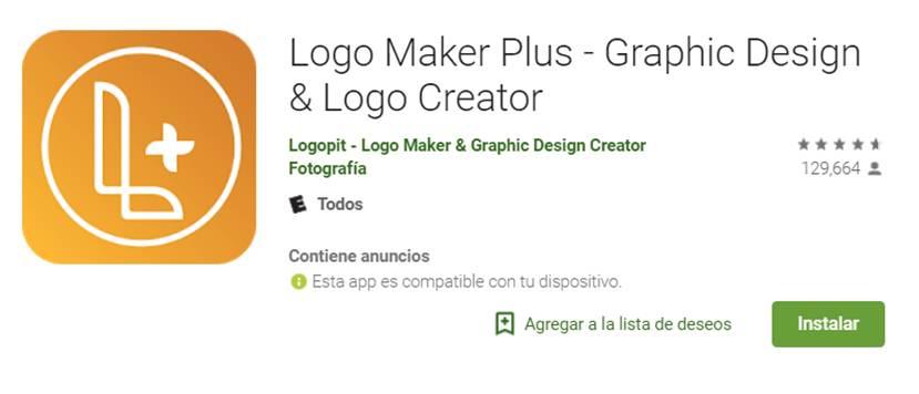logo maker plus en google play store