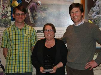 Olwell receives 2013 award