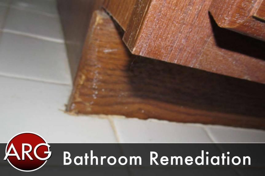 bathroom remediation