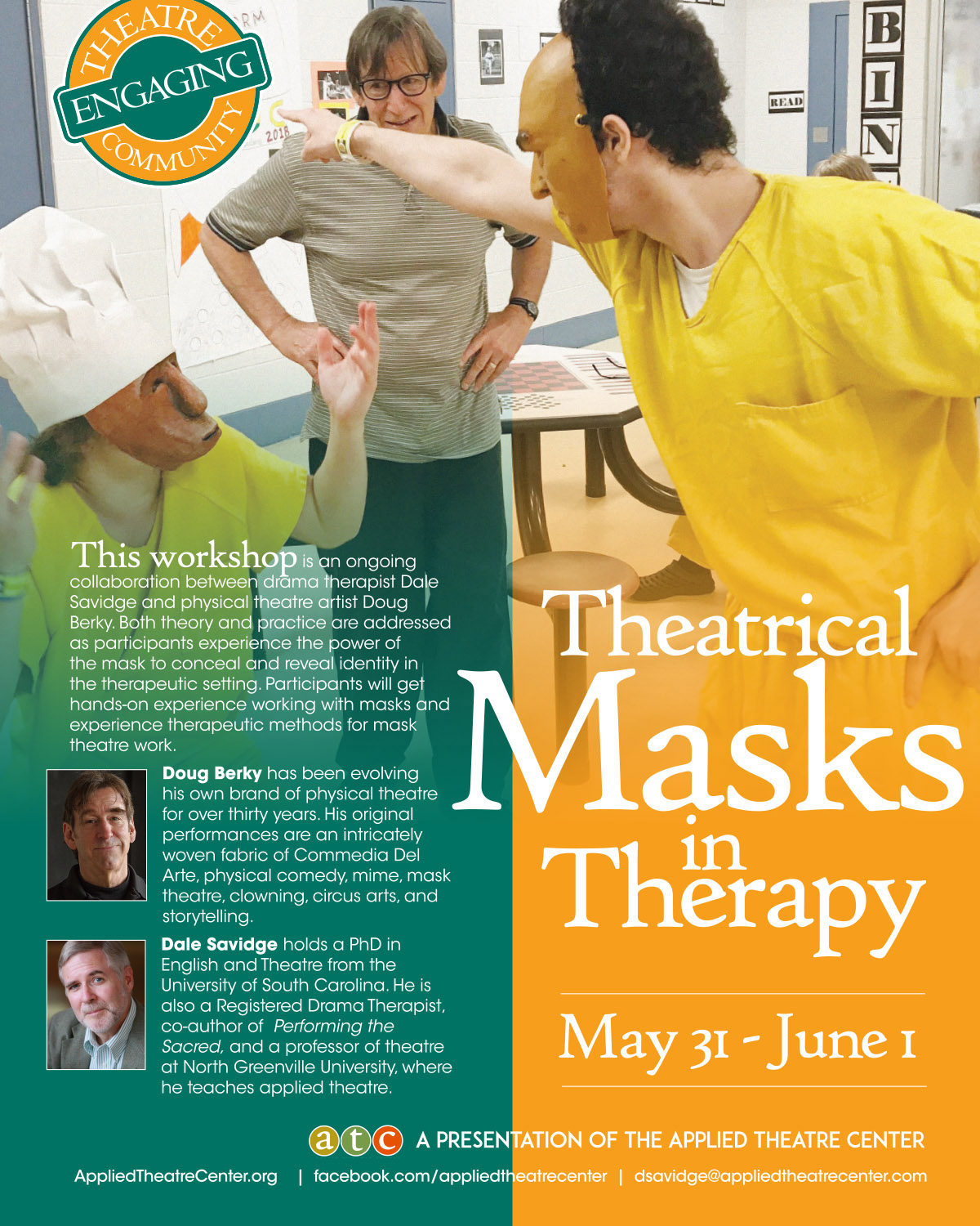 THEATRICAL MASKS IN THERAPY
