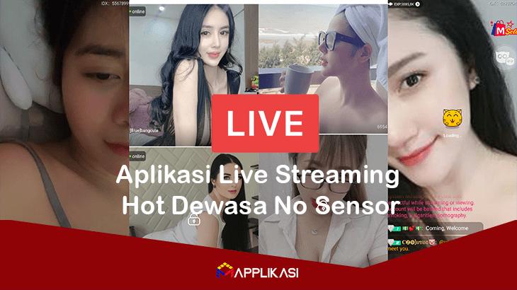 Aplikasi Live Streaming Hot Dewasa No Sensor