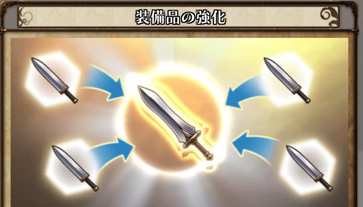 【アークザラッドR】強化した武器使って武器作ったら強化分はどうなる?