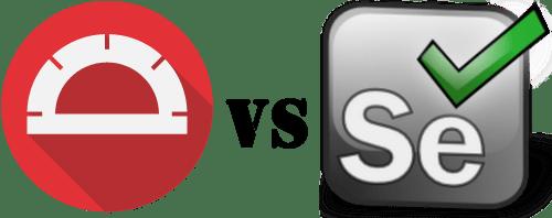 Protractor vs Selenium