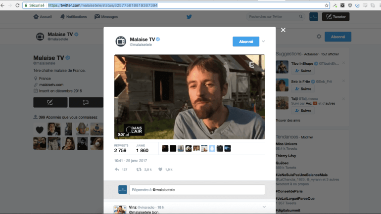 Comment telecharger une video twitter