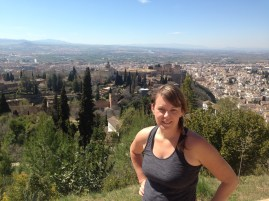 View from above the Alhambra