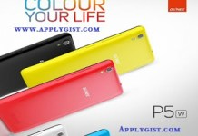 Steps How to Root Gionee P5W
