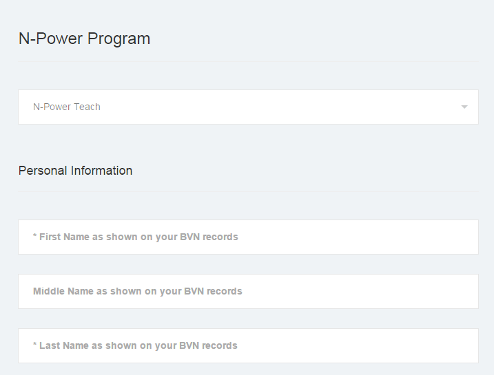 Npower health registration link https://apply.npower.gov.ng/npower-teach.php