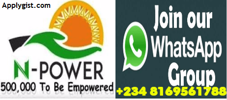 Npower Whatsap group