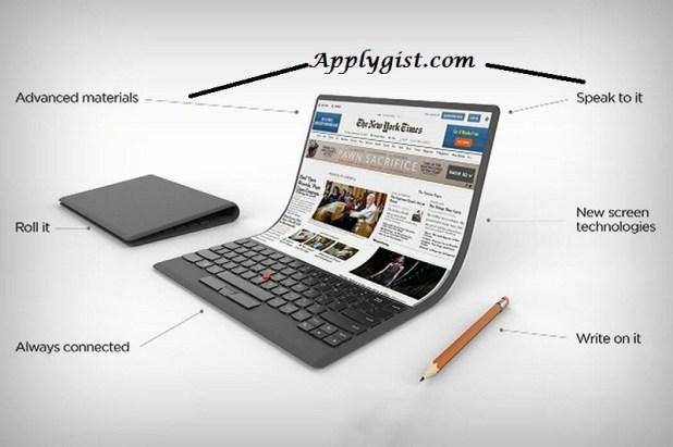 Lenovo Self Bending Laptop