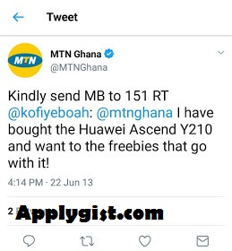 MTN 50GB Free Browsing for Ghana - Free Browsing For 6