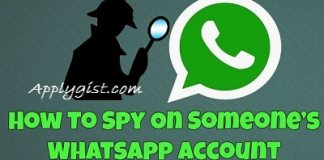 HOW TO SPY ON SOMEONE WHATSAPP ACCOUNT