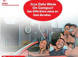Airtel 30% Data Bonus